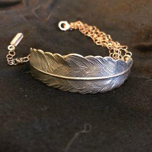 Jewelry - beautiful boho feather bracelet